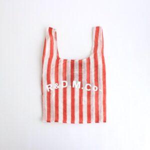 STEEL LINEN SUPERMARKET BAG #RED [no.4916]